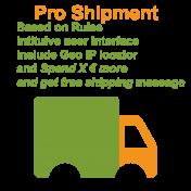 Rules based shipment